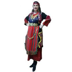 Παραδοσιακή Ελληνική Φορεσιά Δρυμού Θεσσαλονίκης
